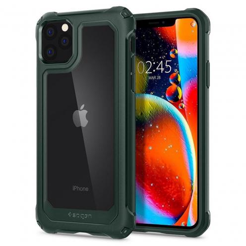 Coque SPIGEN Gauntlet pour Iphone 11 PRO ( 5.8 ) hunter vert
