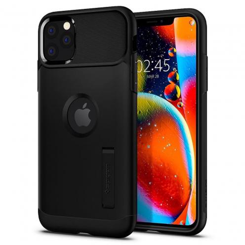 Coque SPIGEN Slim Armor pour Iphone 11 ( 6.1) Noir
