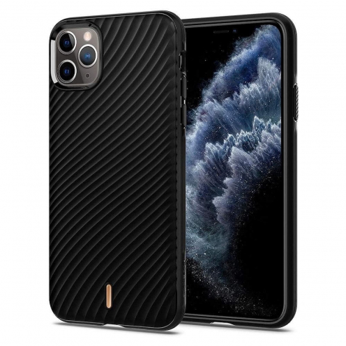 Coque SPIGEN Ciel Wave SHELL pour Iphone 11 PRO ( 5.8 ) Noir