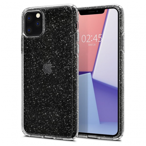 Coque SPIGEN Liquid Glitter Crystal pour Iphone 11 ( 6.1 ) transparent