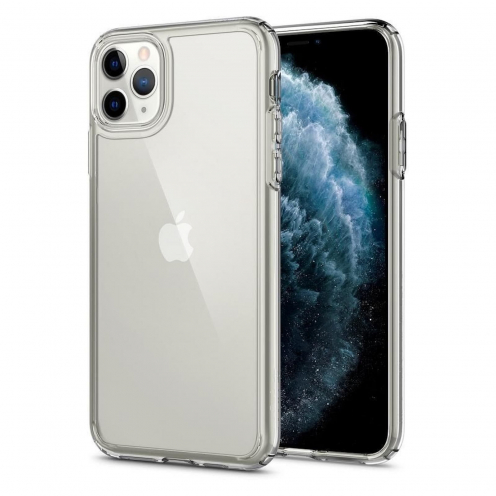 Coque SPIGEN Crystal Hybrid pour Iphone 11 PRO Max ( 6.5 ) crystal clear