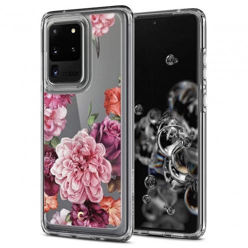 Coque Spigen® Ciel pour Samsung S20 ULTRA rose floral