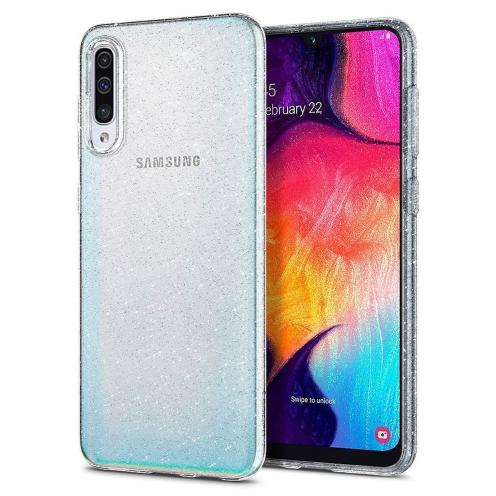 Coque Spigen® Liquid Crystal pour Samsung A51 glitter crystal