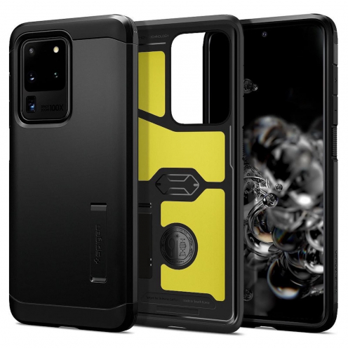 Coque Spigen® Tough Armor pour Samsung S20 ULTRA Noir