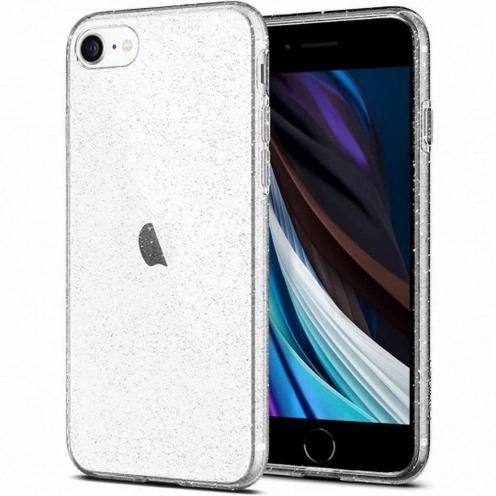 SPIGEN Liquid Crystal Glitter pour iPhone 7 / 8 / SE 2020 transparent glitter