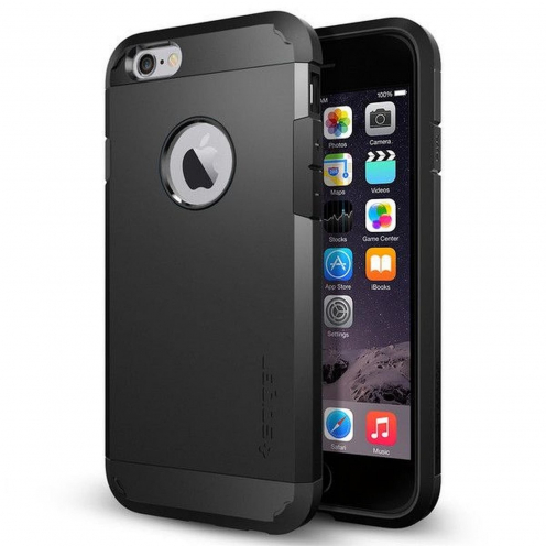 SPIGEN Tough Armor pour iPhone 6 / 6S Noir