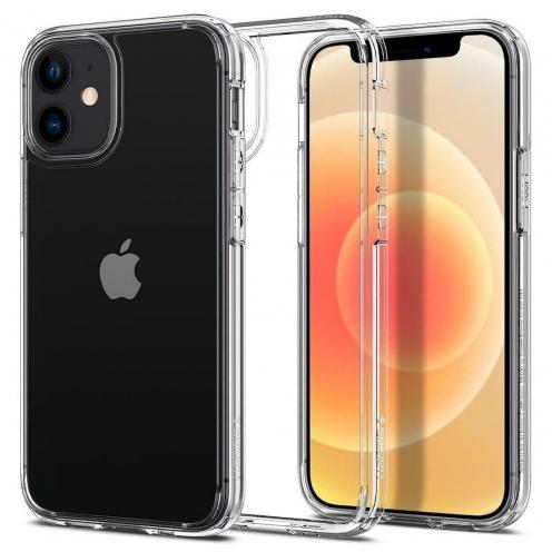 Coque Spigen© Ultra Hybrid pour iPhone 12 MINI Transparent