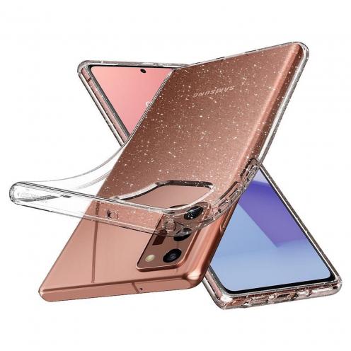 Coque Spigen© Liquid Crystal pour Samsung NOTE 20 glitter crystal
