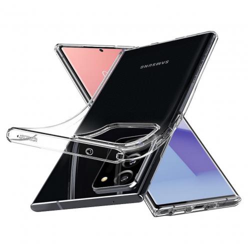 Coque Spigen© Liquid Crystal pour Samsung NOTE 20 ULTRA Transparent