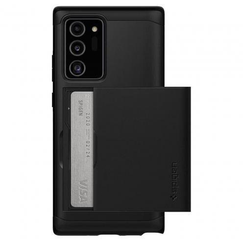 Coque Spigen© Slim Armor CS pour Samsung NOTE 20 ULTRA Noir