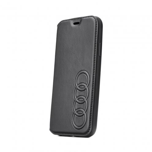 Etui Folio AUDI® Cuir AU-TPUFCIPXSM-TT/D1-BK iPhone Xs Max Noir