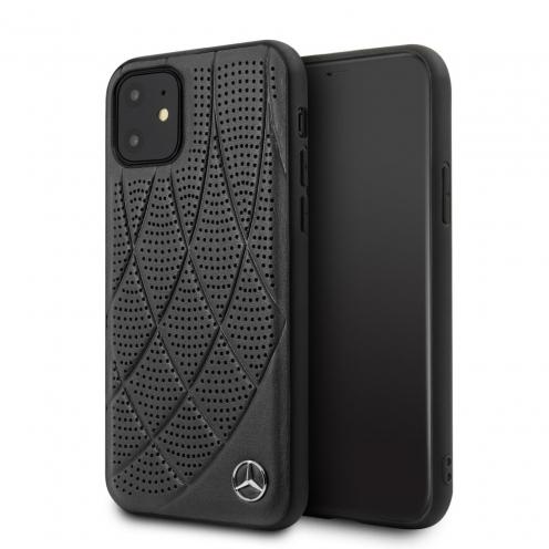 Coque Mercedes® MEHCN61DIQBK iPhone 11 Noir