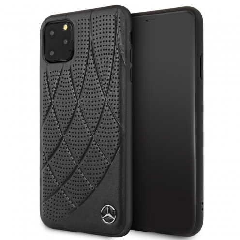 Coque Mercedes® MEHCN65DIQBK iPhone 11 Pro Max Noir