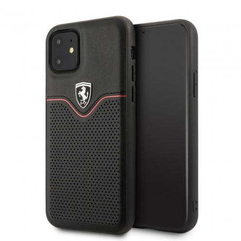 Coque Ferrari FEOVEHCN61BK Iphone 11 Noir