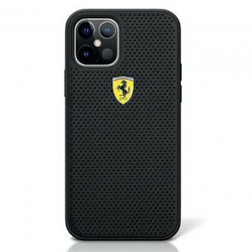 Coque Originale Ferrari© FESPEHCP12MBK iPhone 12 / 12 PRO Noir