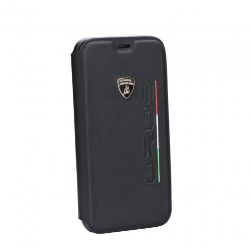 Coque Ultra Fine Lamborghini URUS-D2 LB-SSHFCIPX-UR/D2-BK iPhone X Noir