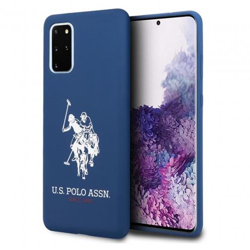 Coque Originale US Polo© USHCS67SLHRNV Samsung S20 Plus Bleu Marine