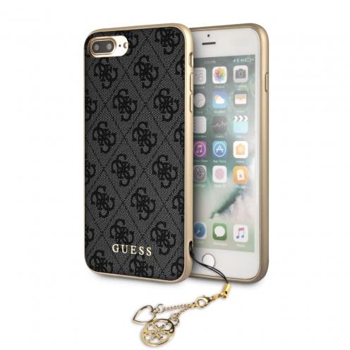Coque GUESS® GUHCI8LGF4GGR Liquid iPhone 7/8 Plus Gris