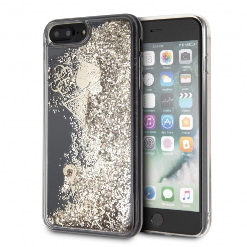 Coque GUESS® GUHCI8LGLHFLGO iPhone 7/8 Plus Or