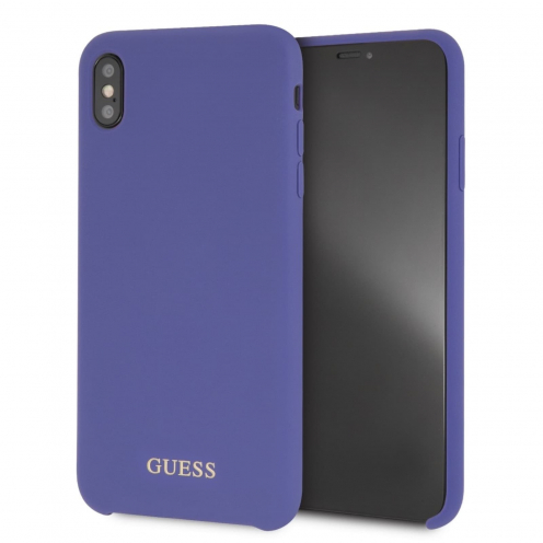 Coque GUESS® GUHCI65LSGLUV iPhone XS Max violet