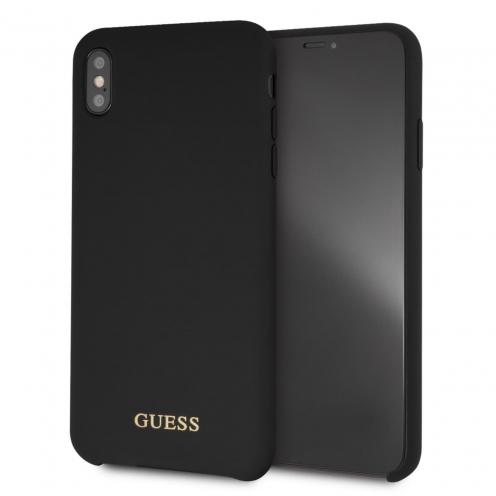 Coque GUESS® GUHCI65LSGLBK iPhone XS Max Noir