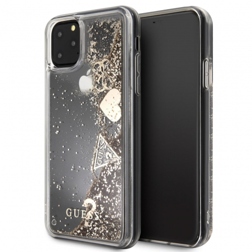 Coque GUESS® GUHCN65GLHFLGO iPhone 11 Pro Max Or