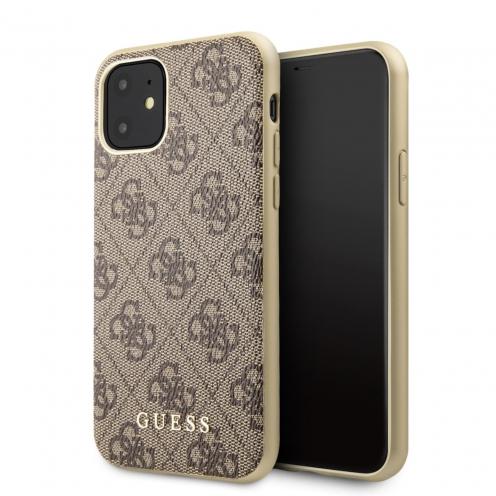 Coque GUESS® GUHCN61G4GB iPhone 11 Marron