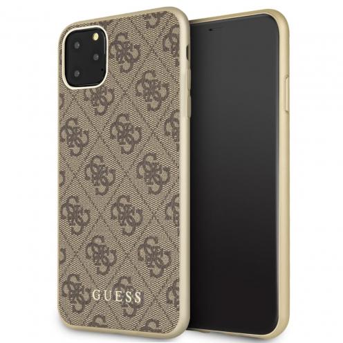 Coque GUESS® GUHCN65G4GB iPhone 11 Pro Max Marron