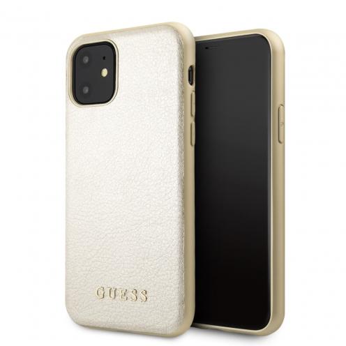 Coque GUESS® GUHCN61IGLGO iPhone 11 Or