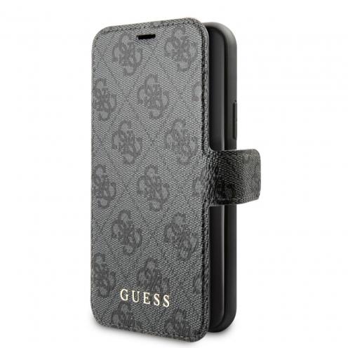 Etui Folio Guess® GUFLBKSN584GG iPhone 11 Pro Gris