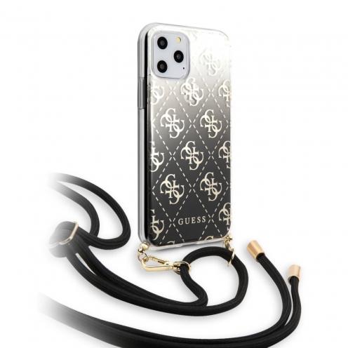 Coque Guess® GUHCN58WO4GBK iPhone 11 Pro Noir