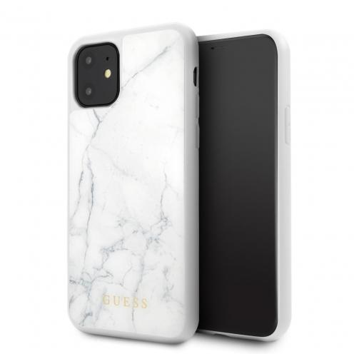 Coque Guess® GUHCN61HYMAWH iPhone 11 Blanc