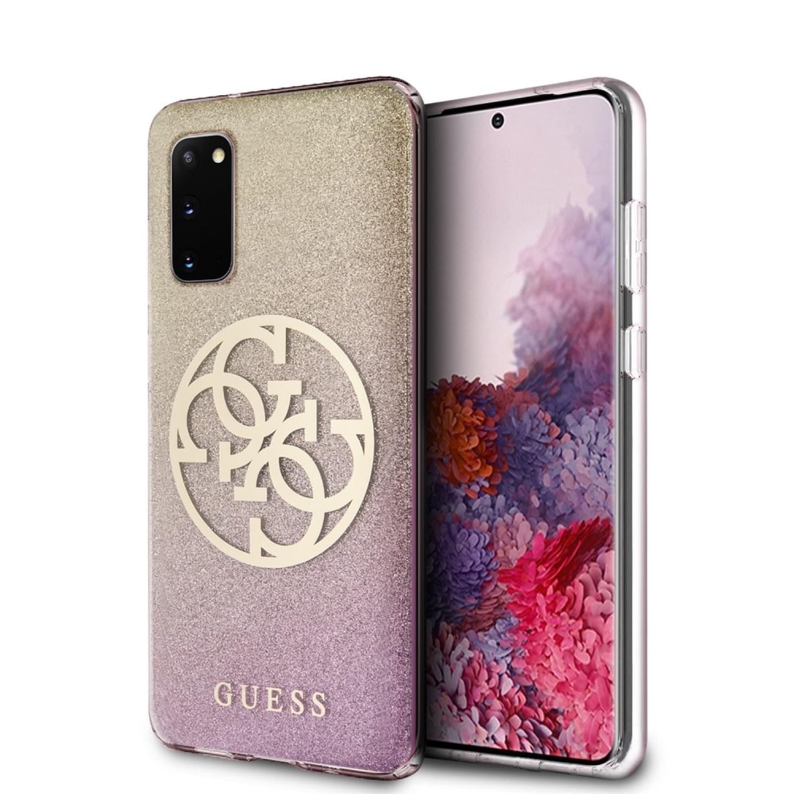 Coque Guess® GUHCS62PCUGLPGG Samsung S20 Rose