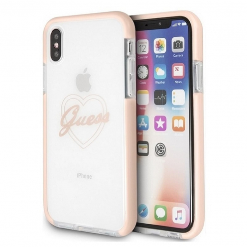 Coque Guess® GUHCPXSHPI iPhone X/Xs Rose