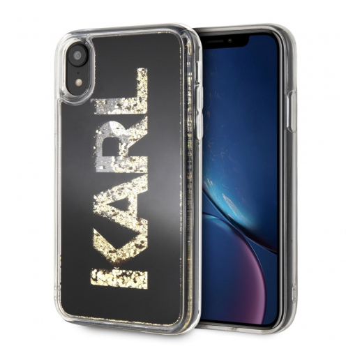 Coque Karl Lagerfeld® KLHCI61KAGBK iPhone XR Noir