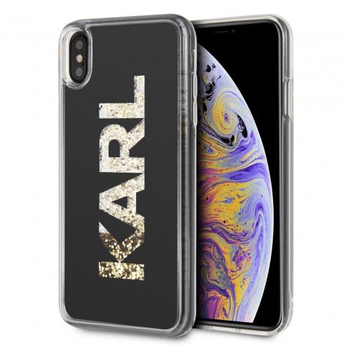 Coque Karl Lagerfeld® KLHCI65KAGBK iPhone XS Max transparent