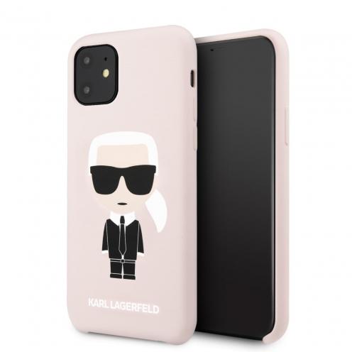 Coque Karl Lagerfeld® KLHCN61SLFKPI iPhone 11 Rose