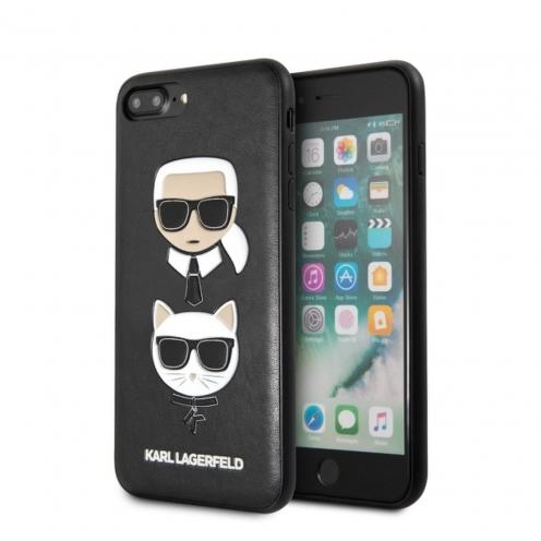 Coque Karl Lagerfeld® KLHCI8LKICKC iPhone 7/8 Plus Noir