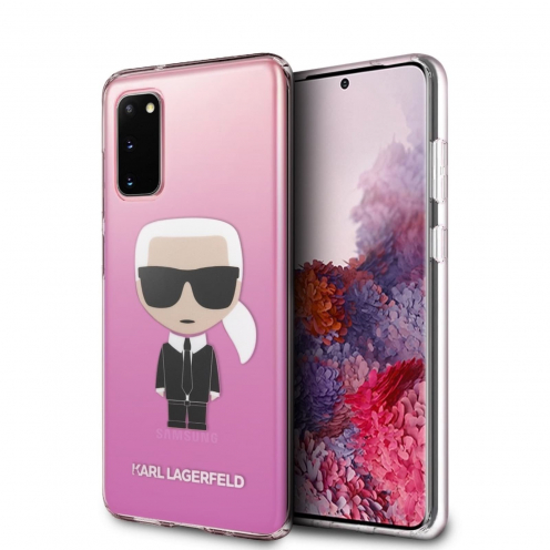 Coque Karl Lagerfeld® KLHCS62TRDFKPI Samsung Galaxy S20 Rose