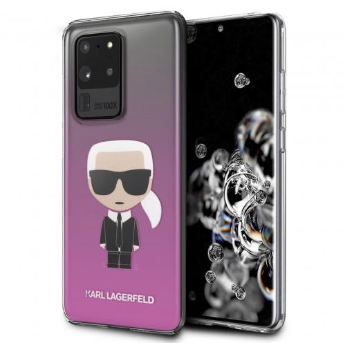 Coque Karl Lagerfeld® KLHCS69TRDFKPI Samsung Galaxy S20 Ultra Rose