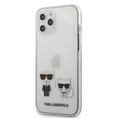 Coque Originale Karl Lagerfeld© KLHCP12LCKTR iPhone 12 PRO MAX Transparent