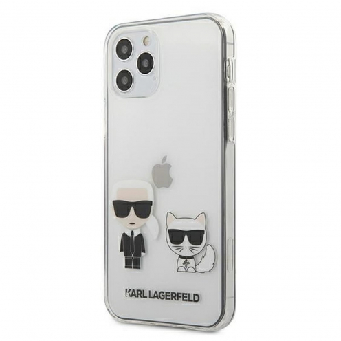 Coque Originale Karl Lagerfeld© KLHCP12MCKTR iPhone 12 / 12 PRO Transparent