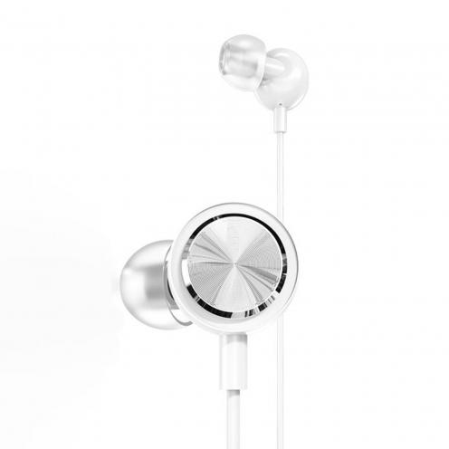 Remax© Proda Ecouteurs stereo jack 3,5mm PD-E700 Blanc