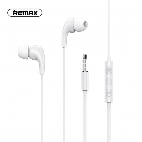 Remax© Ecouteurs MUSIC RW-108 Blanc