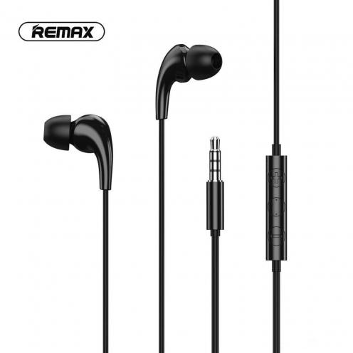 Remax© Ecouteurs MUSIC RW-108 Noir