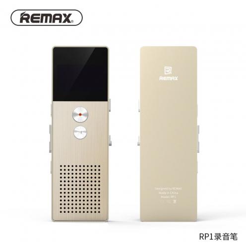Remax® Enregisteur Audio avec LCD OLED RP-1 Or
