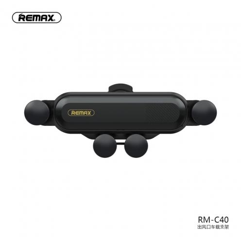 Remax® Support Voiture Ventilateur Gravity RM-C40 Noir