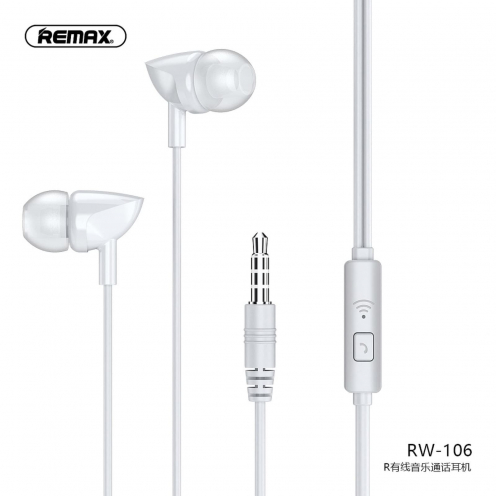 Remax® Ecouteur RW-106 Blanc