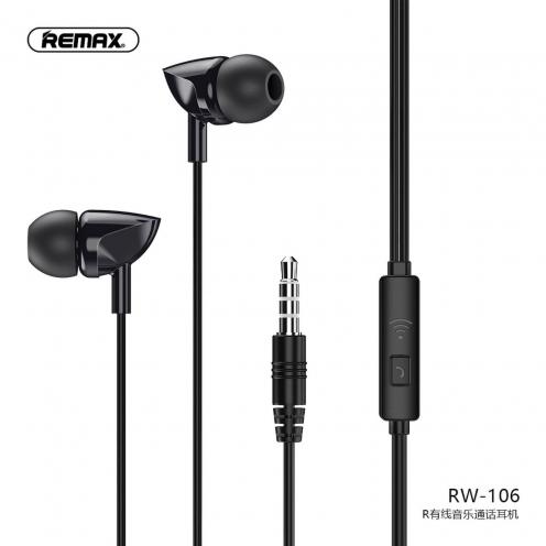 Remax® Ecouteur RW-106 Noir