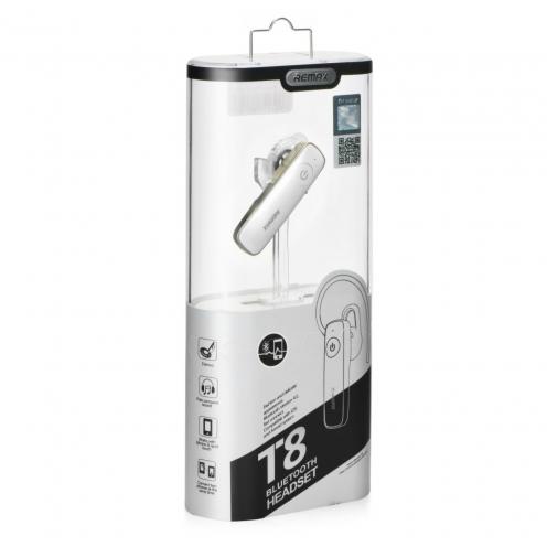 Remax® écouteurs bluetooth RB-T8 Blanc